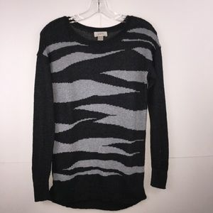 Small Ann Taylor Loft Sweater, Charcoal